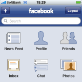 facebook in 好きなiPhoneアプリ by ryu1
