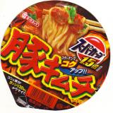 スーパーカップ豚キムチ in 好きなカップ麺 by hirok