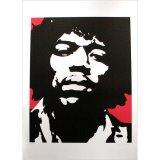 Jimi Hendrix in  by mitsurh