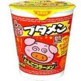 ブタめん in 好きなカップ麺 by urotan_k
