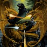 初代キングギドラ in  by Evil_Mythology